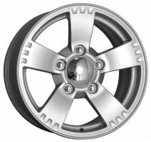 K&K Камелот 7x16 5x139.7 ET 40 Dia 98.5 (silver)