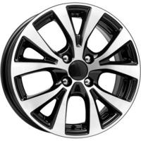 K&K KC685 (Hyundai) 6x15 4x100 ET 48 Dia 54.1 (алмаз черный)
