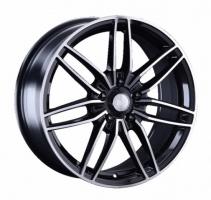 LS Wheels 1241 7.5x17 4x100 ET 40 Dia 60.1 (SF)