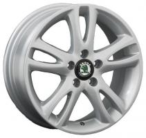 LS Wheels SK1 6x15 5x100 ET 38 Dia 57.1 (silver)