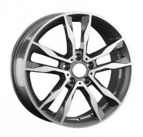 LS Wheels VW203 7x18 5x112 ET 43 Dia 57.1 (BKFP)