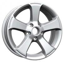 LS Wheels VW48 6.5x16 5x112 ET 33 Dia 57.1 (silver)