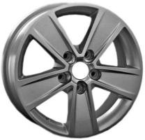 LS Wheels VW76 6.5x16 5x120 ET 62 Dia 65.1 (silver)