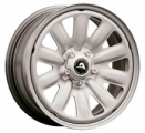 Alcar Hybridrad 130200 6.5x16 5x100 ET 48 Dia 56.1 (silver)