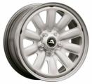 Alcar Hybridrad 130400 6.5x16 5x114.3 ET 50 Dia 67.1 (silver)
