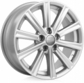 K&K KC624 (Toyota) 7x17 5x114.3 ET 45 Dia 60.1 (silver)